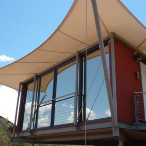 Solar Gard Sterling architectural window film on exterior of home