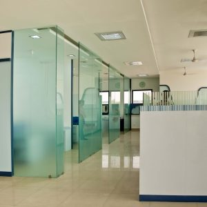 business showing how have used decorative film