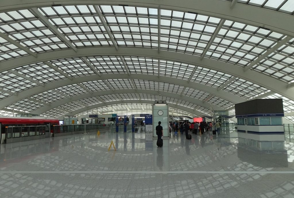 Beijing Airport suffered from intense solar heat