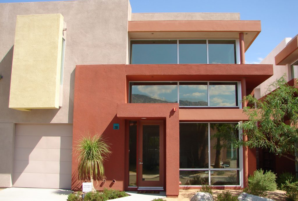 panorama sterling 40 window film on private residence in palm springs