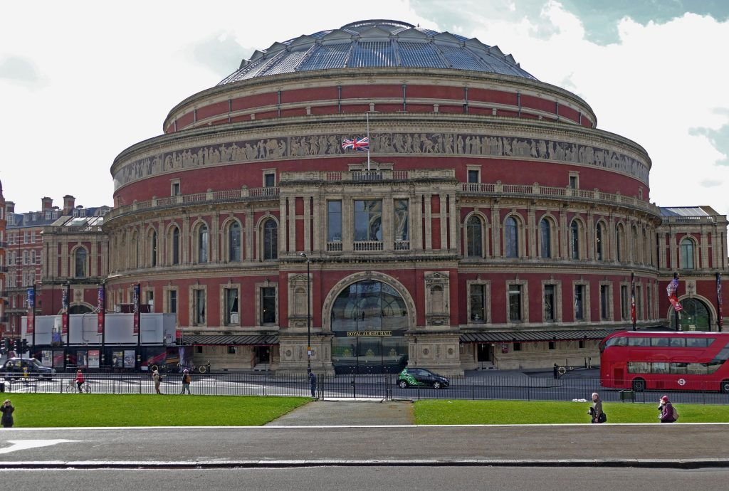 royal albert hall with solar gard on the windows