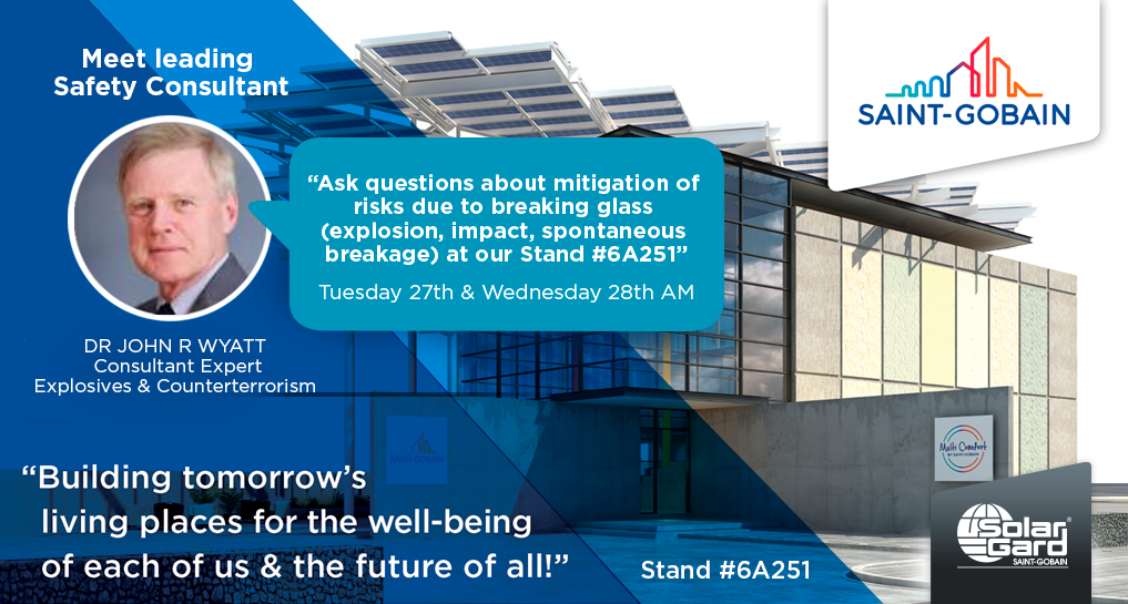 Big 5 – 26-29 November: Thanks to everyone who came to see us in the Saint-Gobain stand!