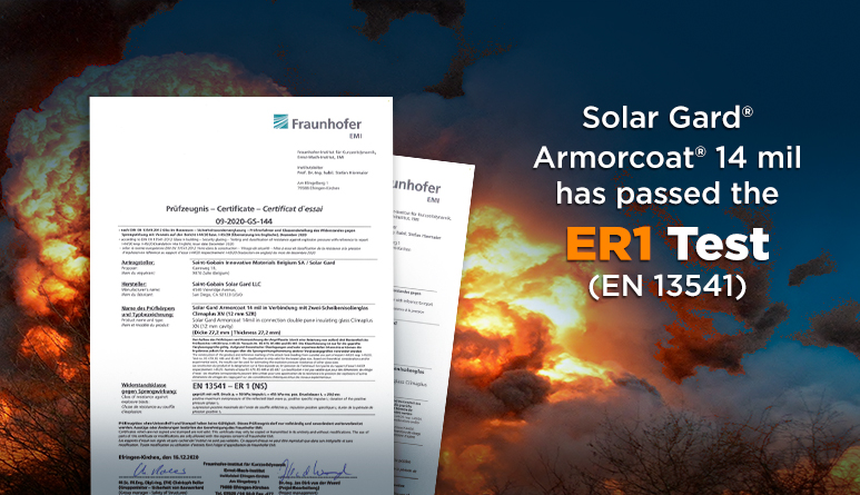 Armorcoat® 14 mil passed tough Explosion Test!